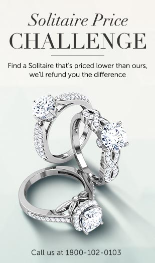 Buy Platinum Rings Design line Price Starting Rs 13 751 in India