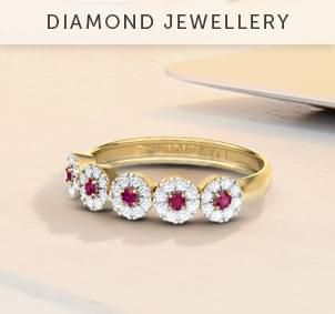 Diamond-jewellery
